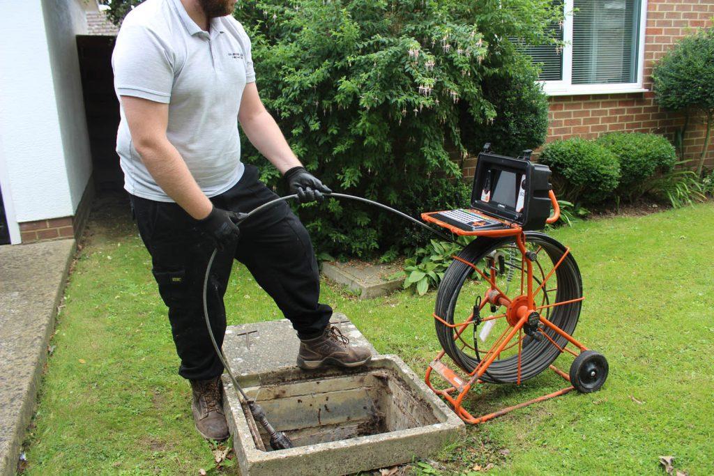 cctv drain survey Dorset